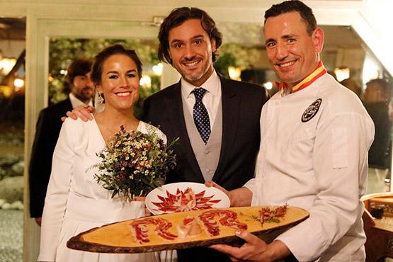 cortador de jamon para bodas